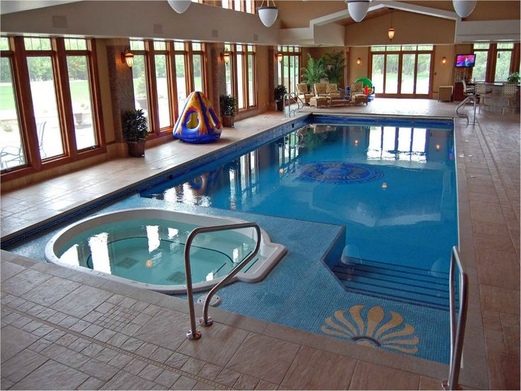 Awesome indoor swimming pool ideas 30