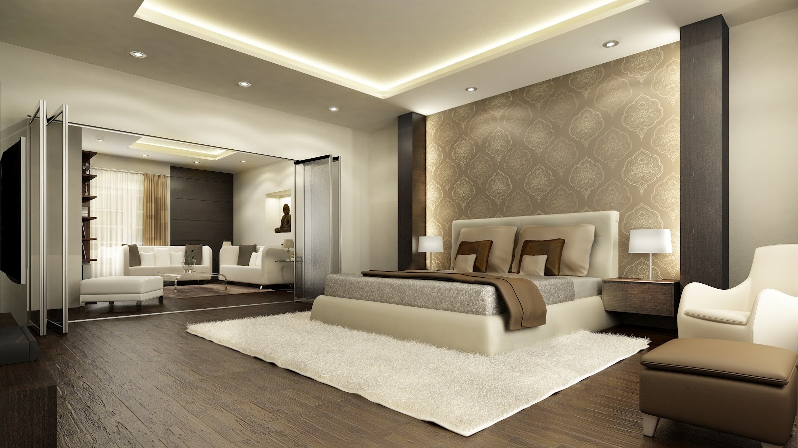 Awesome Luxurious Bedrooms Ideas 7