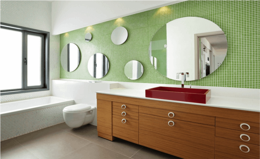 Beautiful and New bathroom mirrors ideas