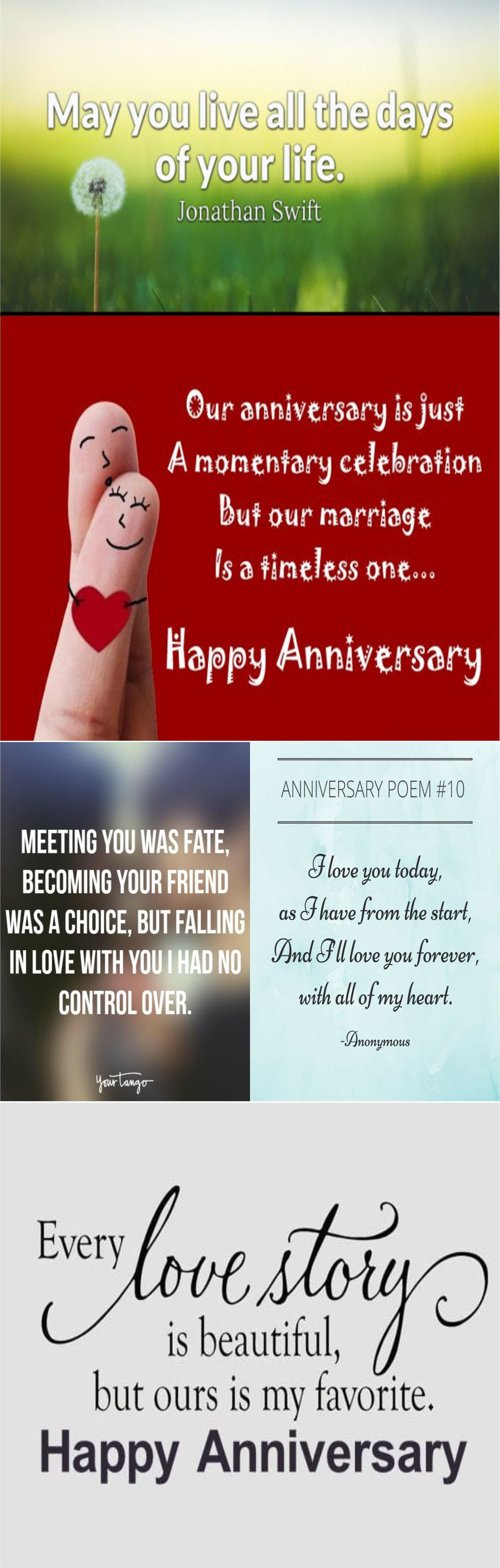 Beautiful anniversary quotes for you