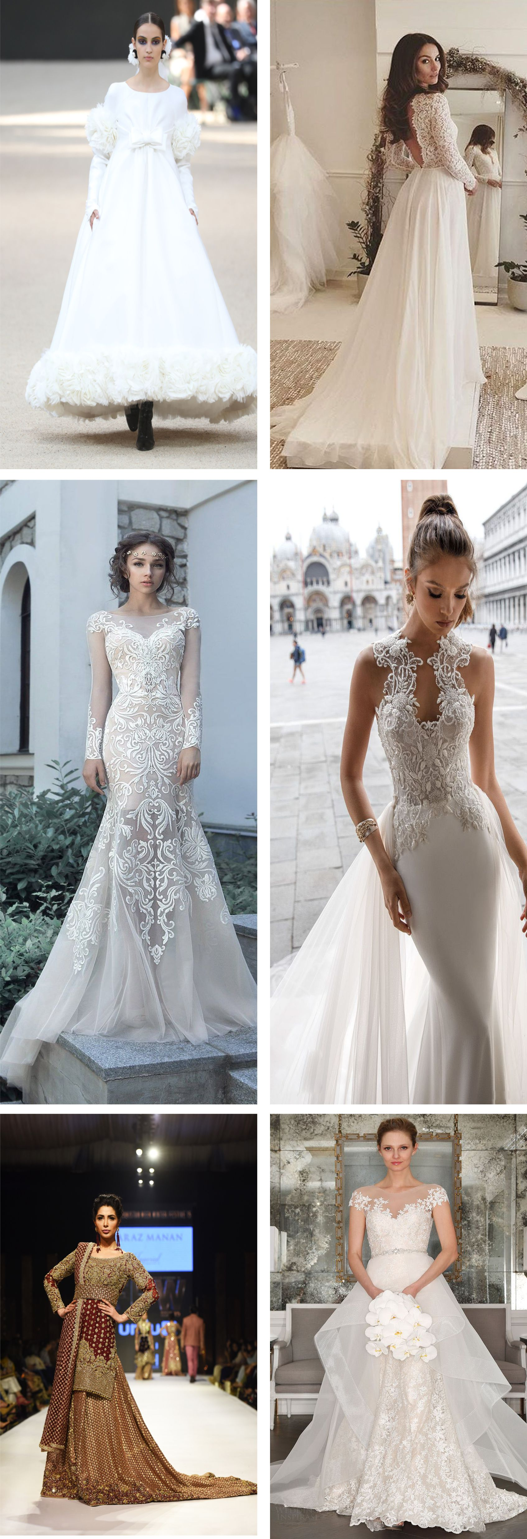 Beautiful bridal gowns for girls