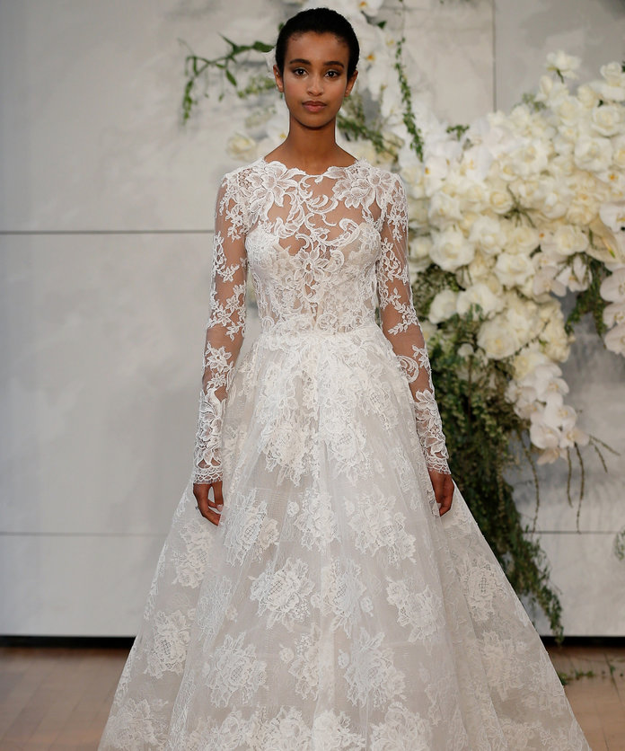 Monique Lhuillier – Runway – New York Fashion Week: Bridal April 2017