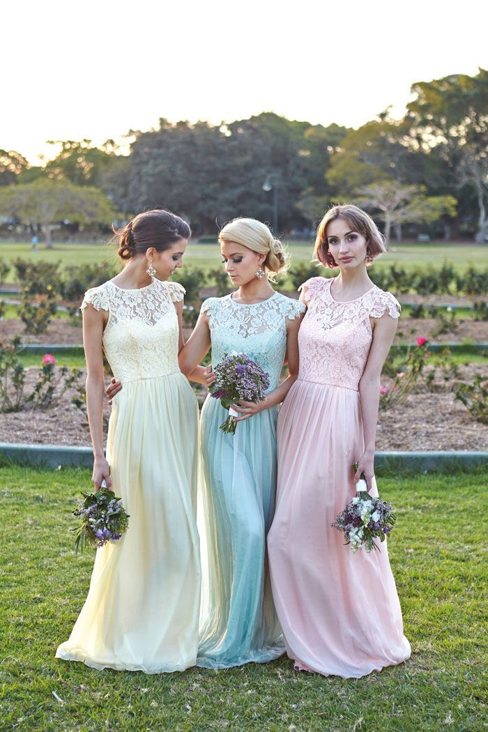 Beautiful cheap bridesmaid dresses inspirations 1