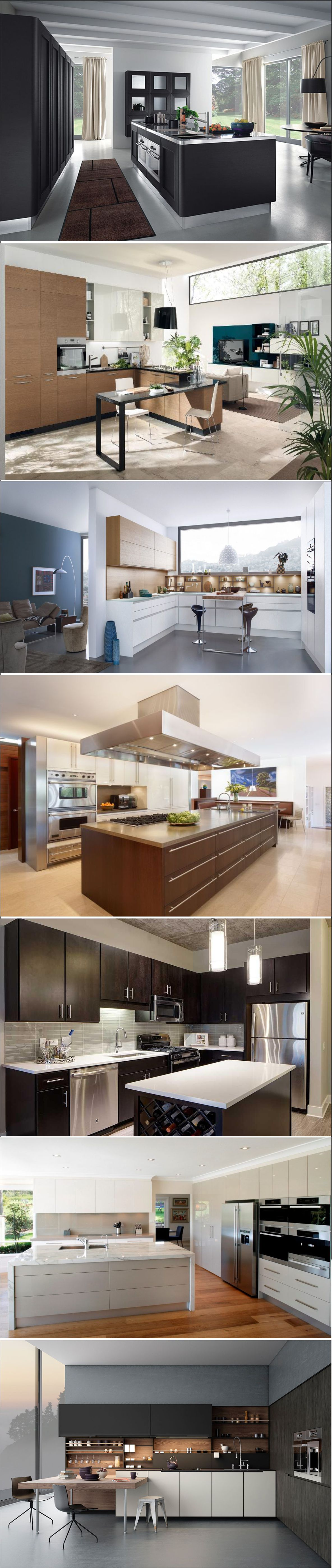 Beautiful contemporary kitchen ideas for home