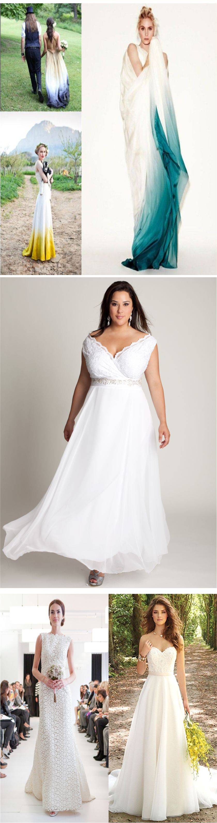 Casual wedding dresses 2018