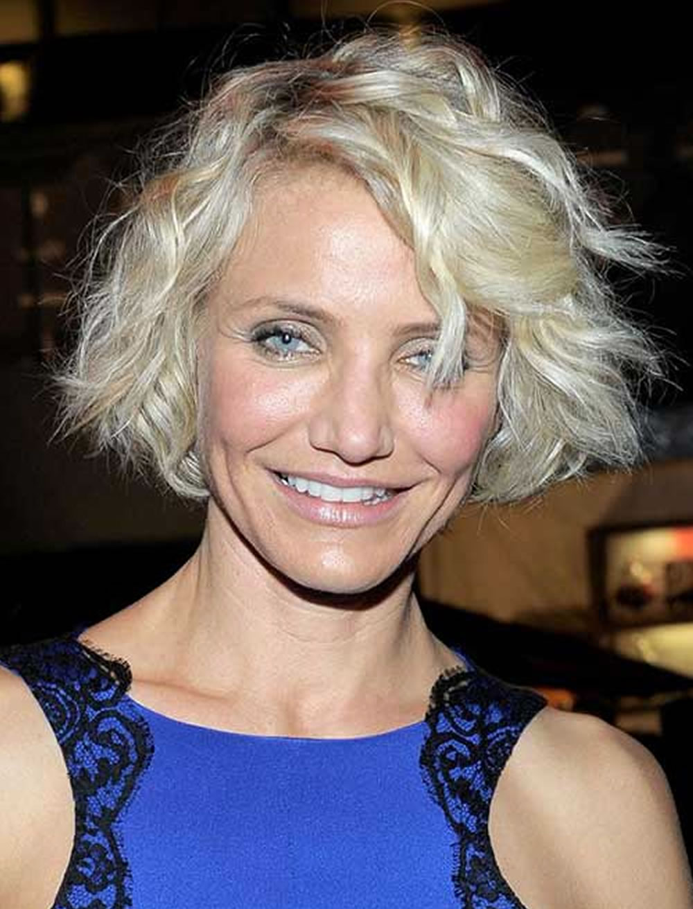 Best Curly Short Bob haircuts for Older Women Over 50