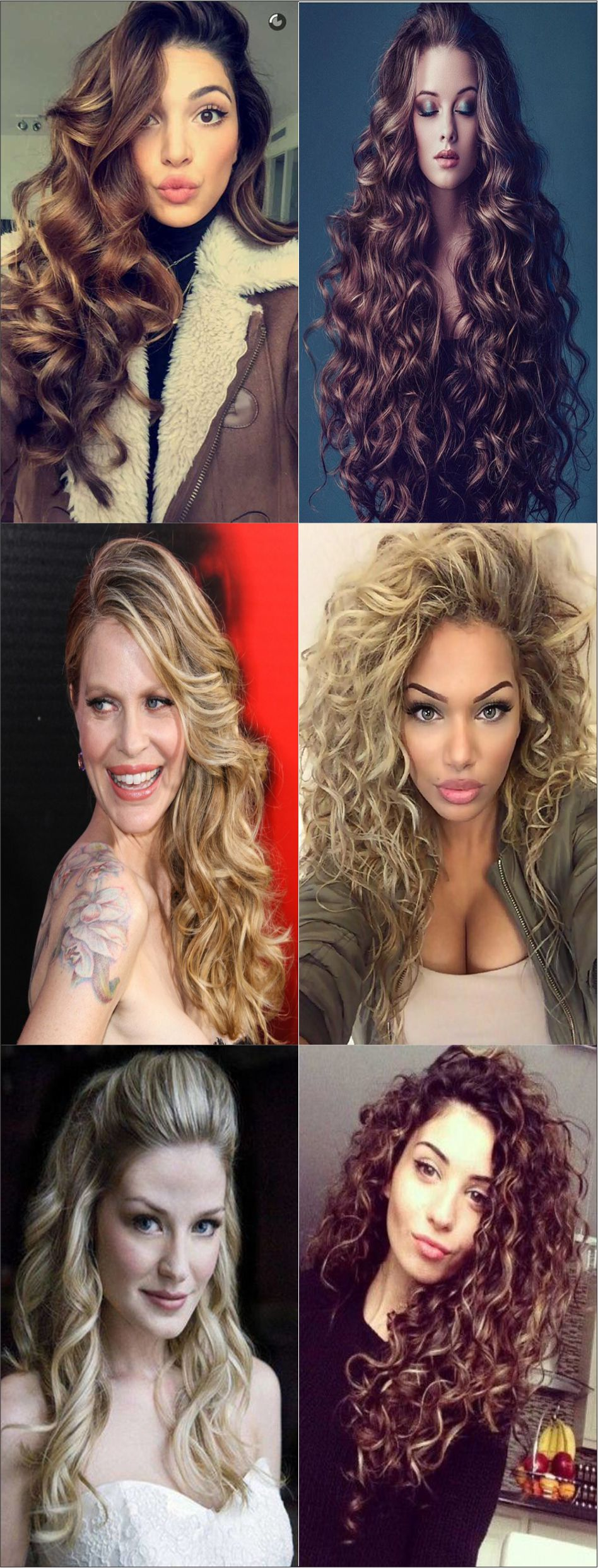 New Amazing curly hairstyles for women