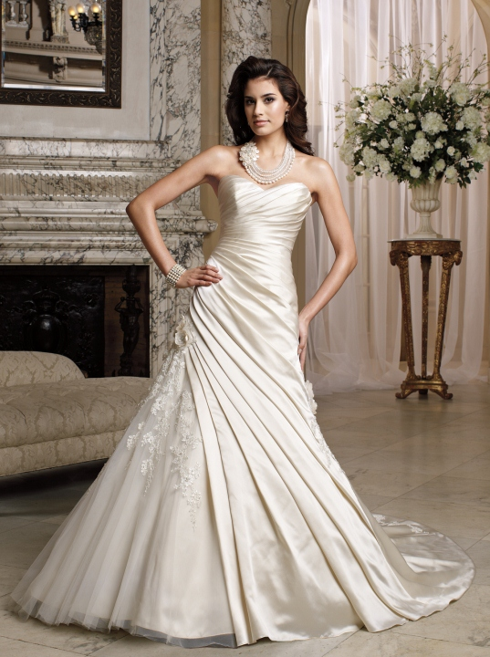Stylish wedding dresses collection 11