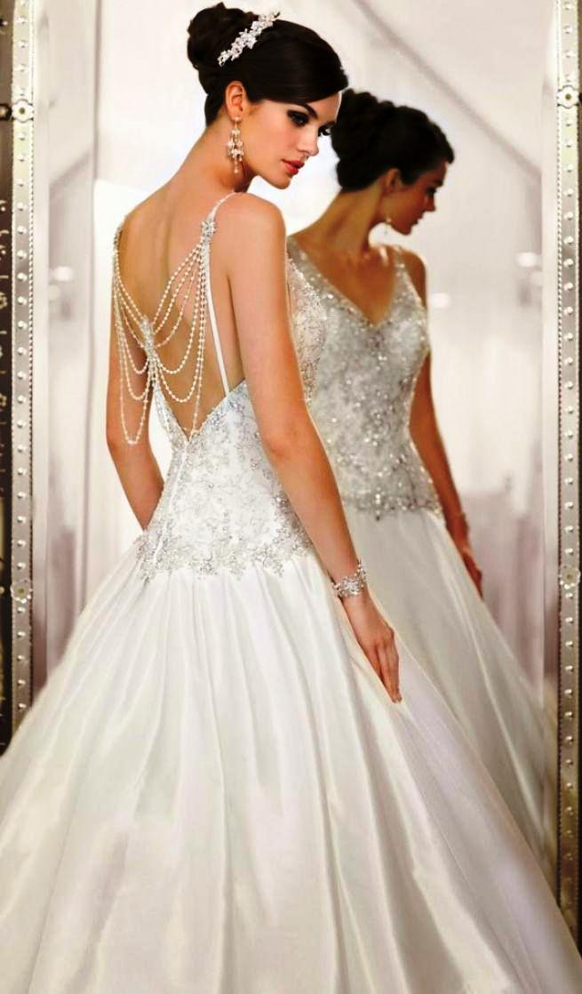 Stylish wedding dresses collection 14