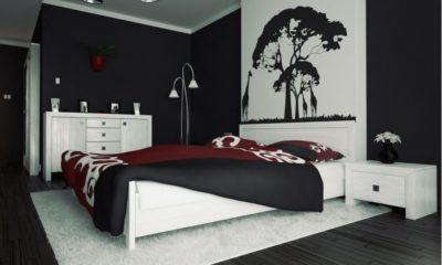 24 Black and White bedroom ideas