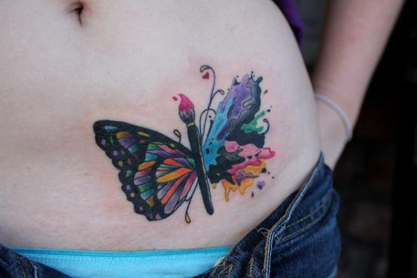 Best butterfly tattoos idea 12