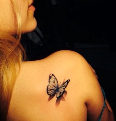 Best butterfly tattoos idea 13