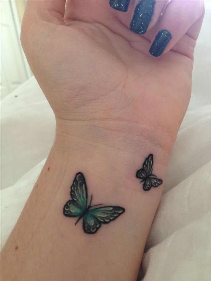 Best butterfly tattoos idea 16