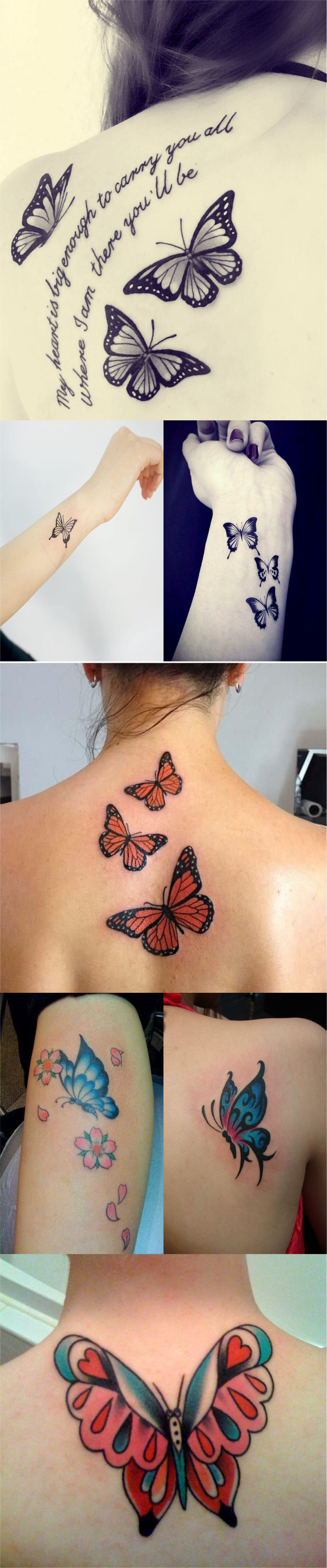 Best butterfly tattoos idea 2018