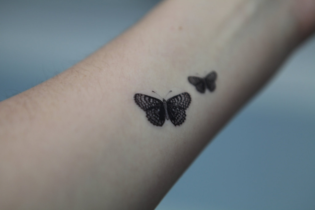 Best butterfly tattoos idea 22