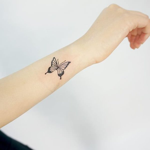 Best butterfly tattoos idea 24