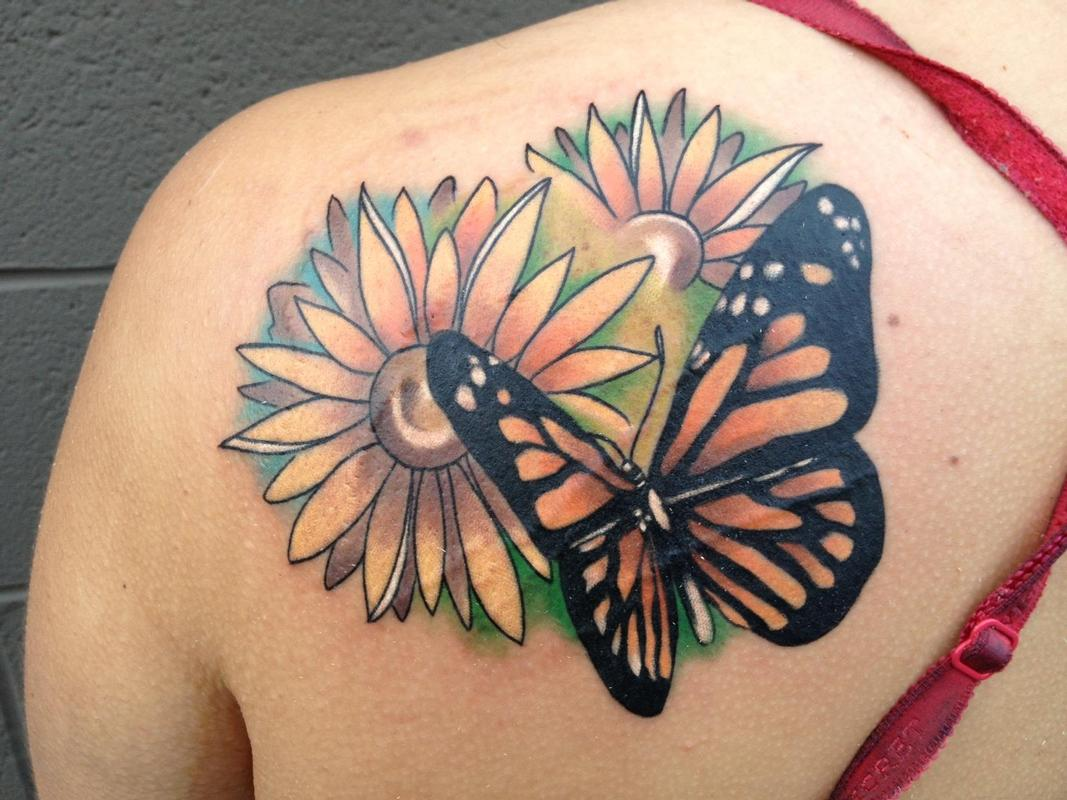 Best butterfly tattoos idea 26