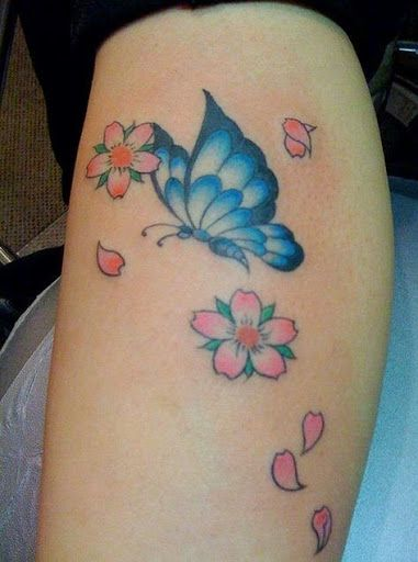 Best butterfly tattoos idea 29