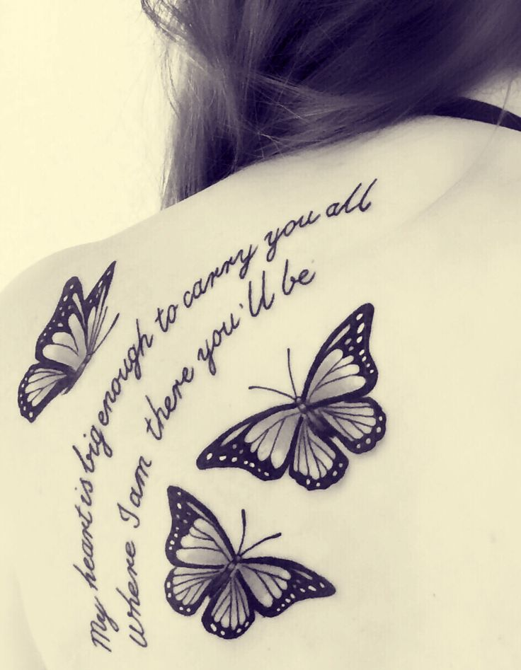 Best butterfly tattoos idea 4