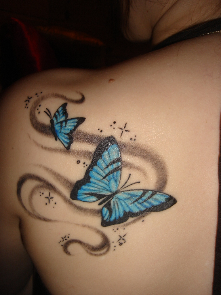Best butterfly tattoos idea 7