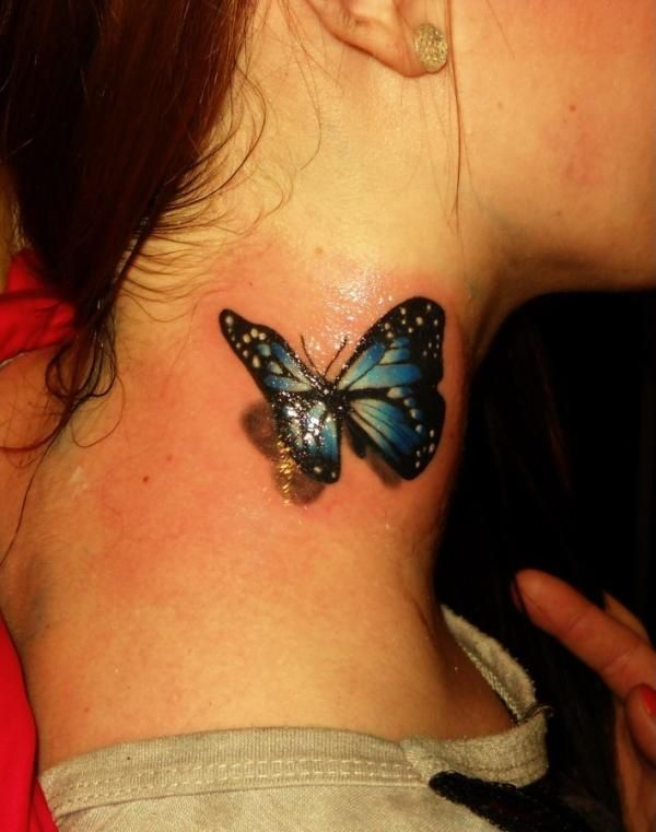 Best butterfly tattoos idea 8