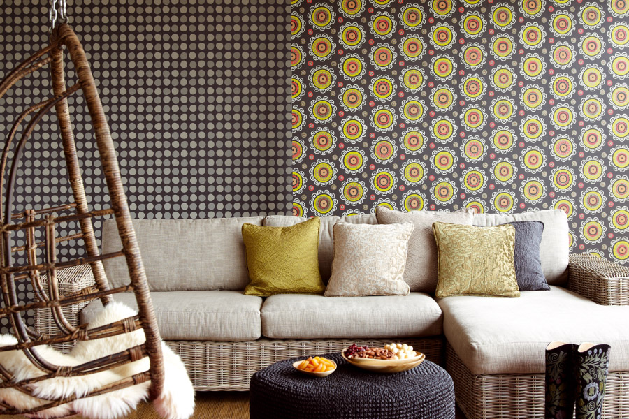 Best living room wallpapers 13