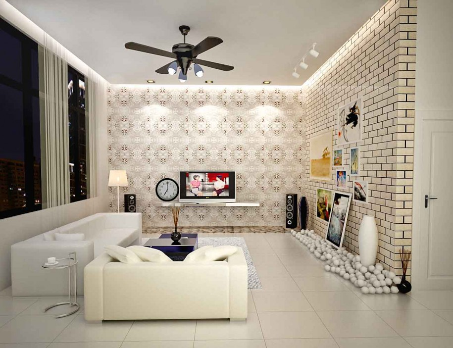 Best living room wallpapers 16