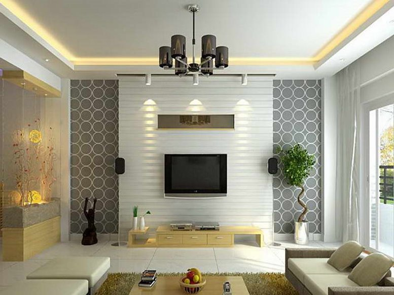 Best living room wallpapers 25