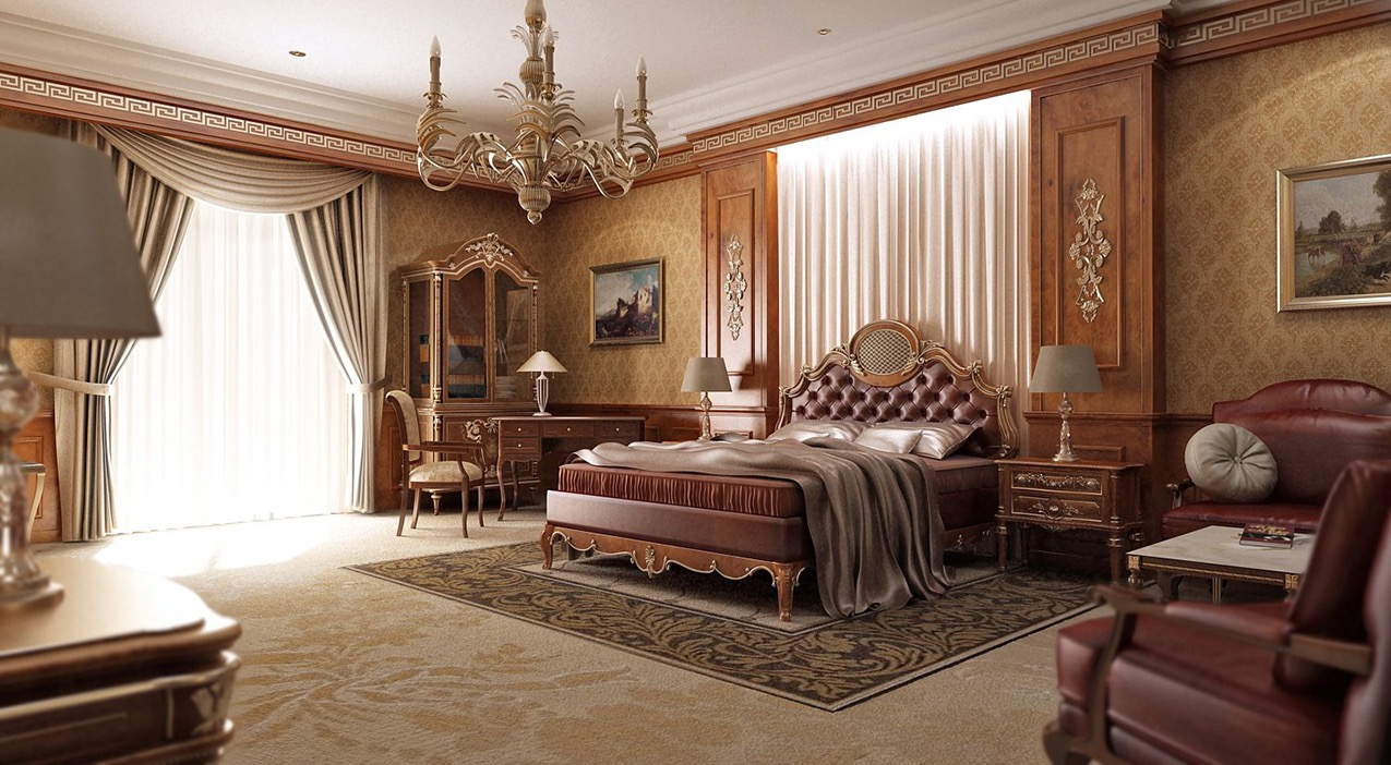 Best traditional bedroom designs 18