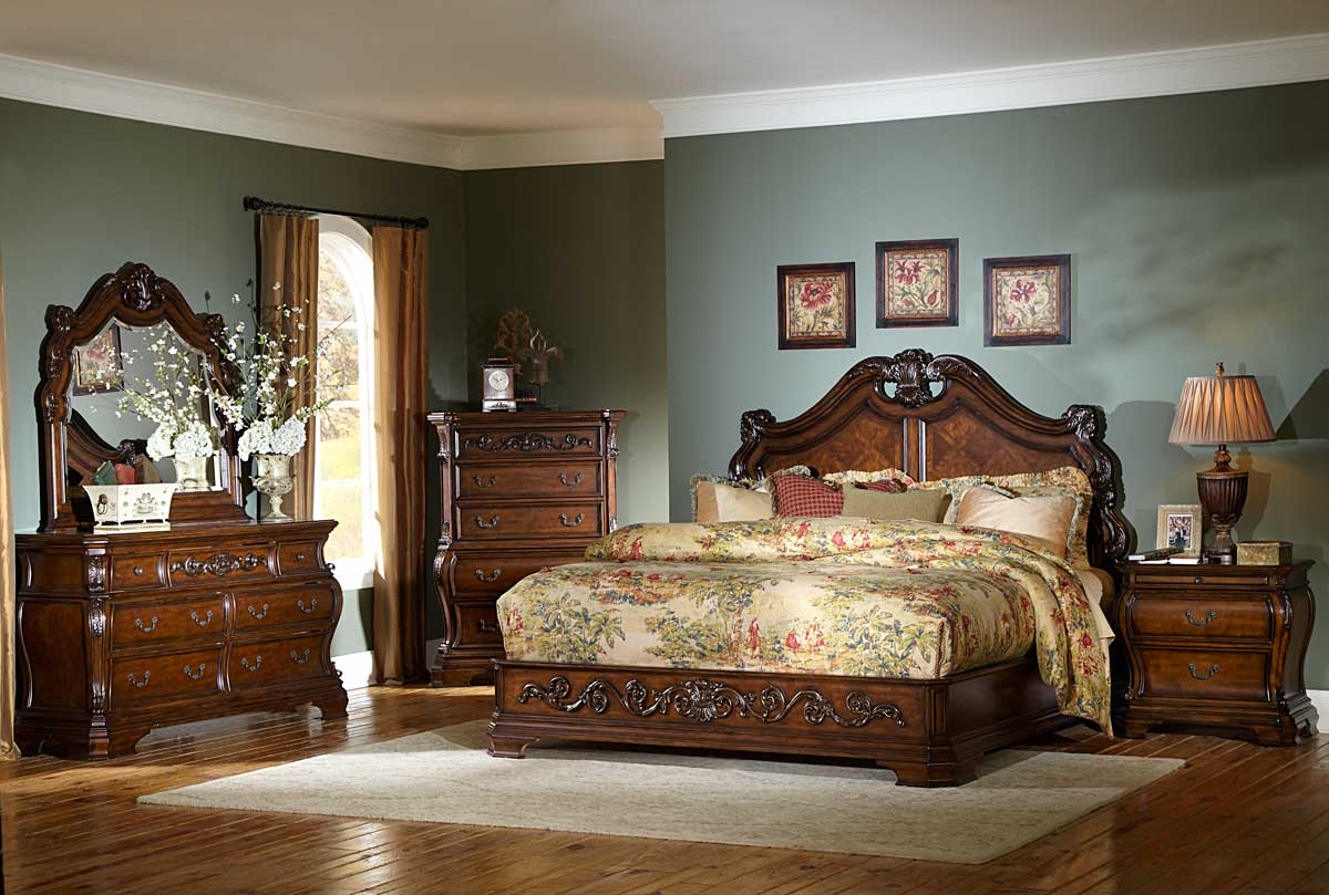 Best traditional bedroom designs 24