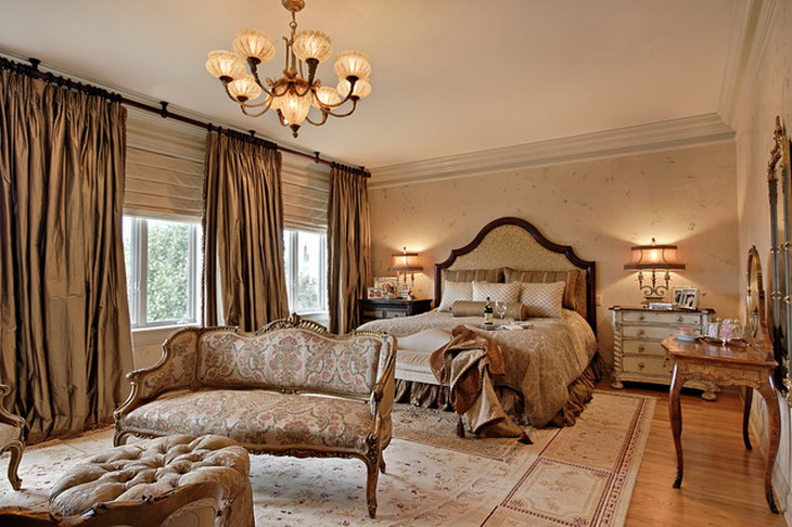 Best traditional bedroom designs