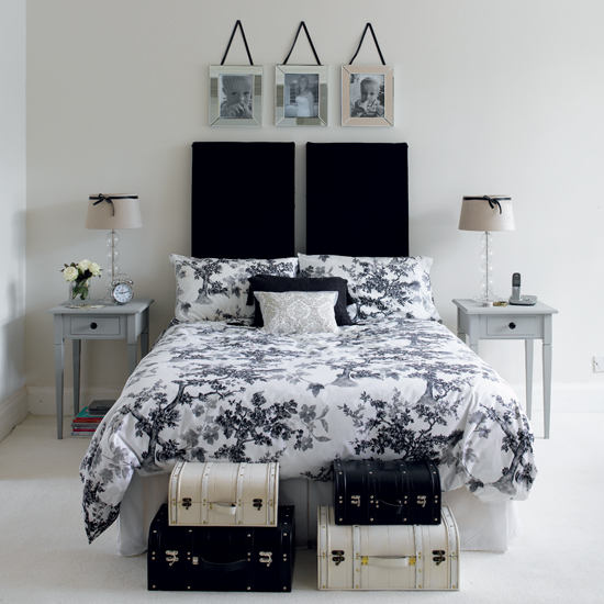 Black and white bedroom ideas 10