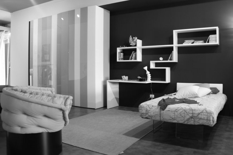 Black and white bedroom ideas 20