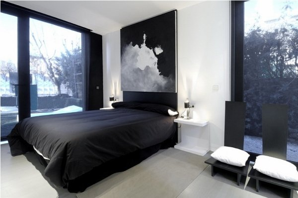 Black and white bedroom ideas 21