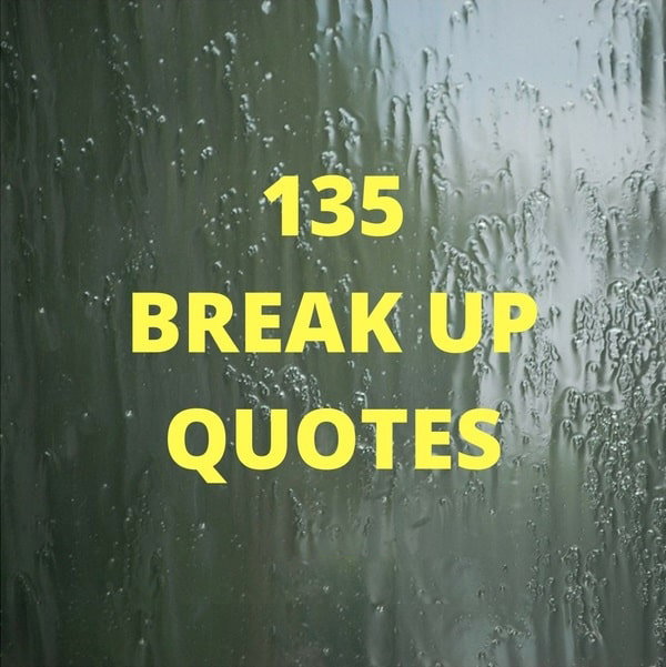 27 Break Up Quotes With Images
