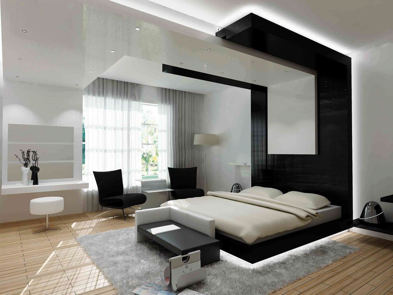 Contemporary bedroom design for your home 11