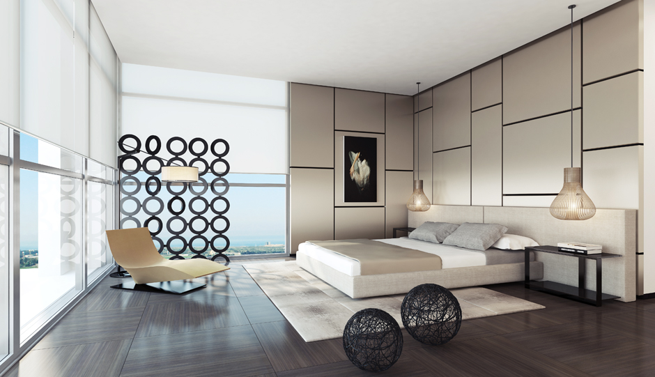Contemporary bedroom design for your home 16