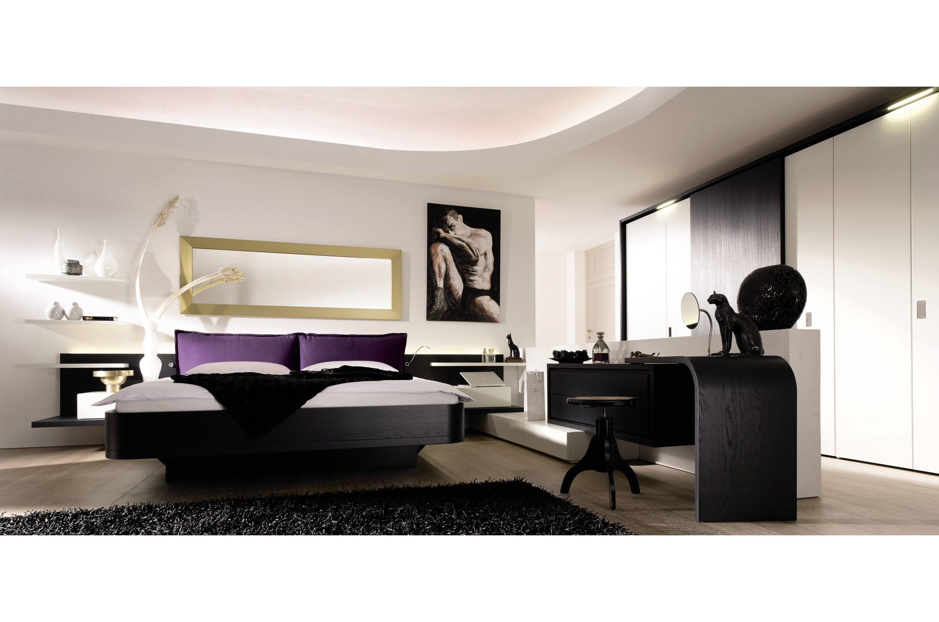 Contemporary bedroom design for your home 17