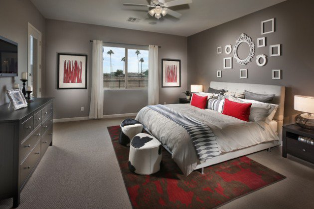 Contemporary bedroom design for your home 22