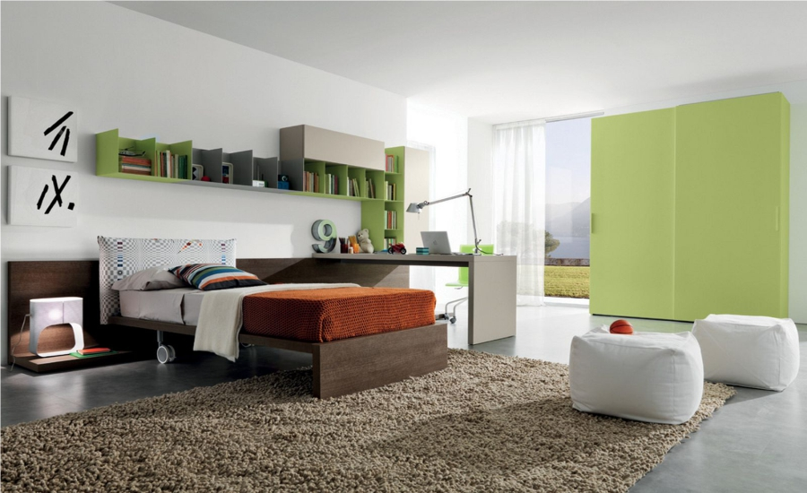 Contemporary bedroom design for your home Feture