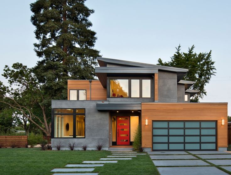 Contemporary home exteriors design ideas 1