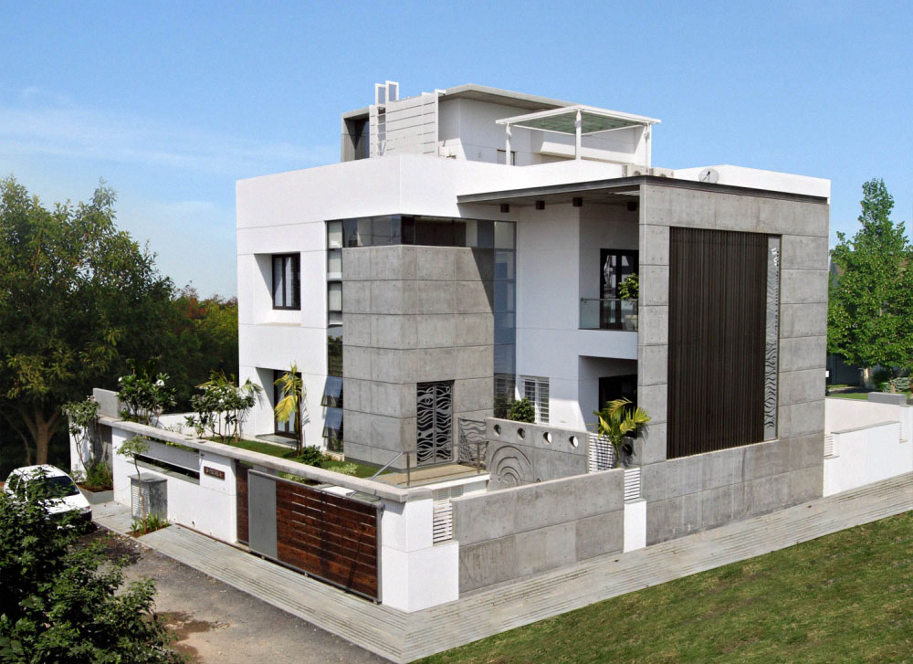 Contemporary home exteriors design ideas 12