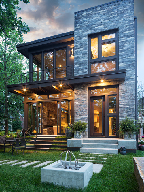 Contemporary home exteriors design ideas 13