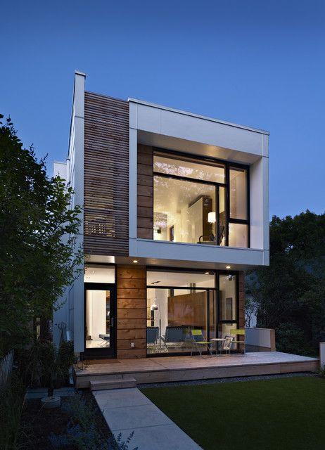 Contemporary home exteriors design ideas 14