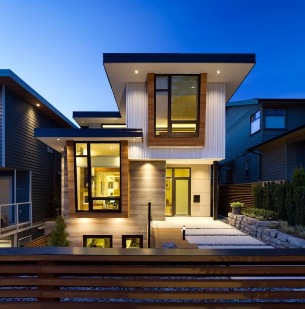 Contemporary home exteriors design ideas 16