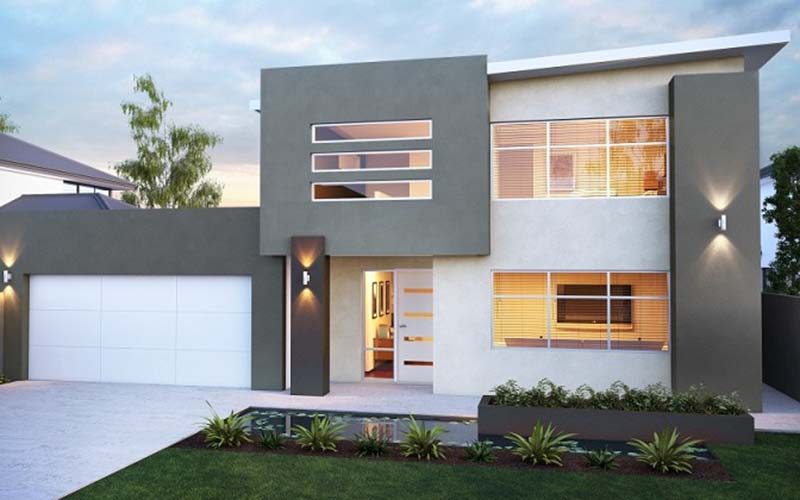 Contemporary home exteriors design ideas 17