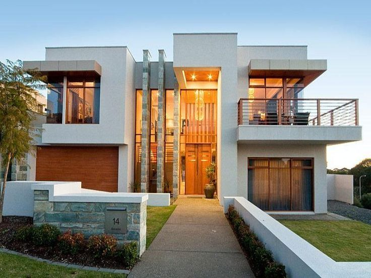 Contemporary home exteriors design ideas 22