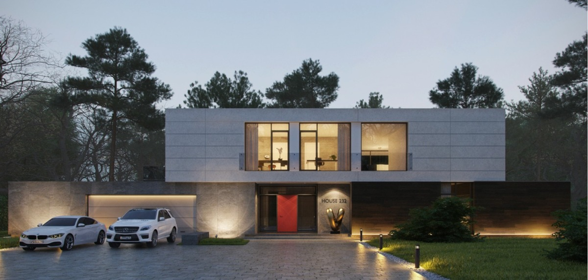 Contemporary home exteriors design ideas 30