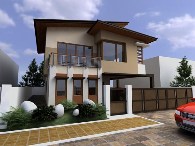 Contemporary home exteriors design ideas 4