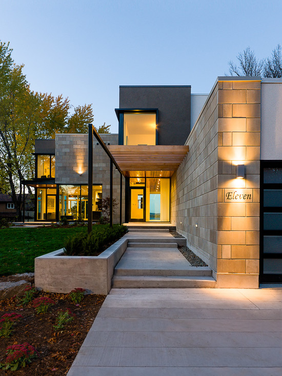 Contemporary home exteriors design ideas 6